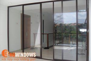 cửa nhôm kính đẹp - Nhôm kính HOwindows
