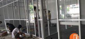 Thi Công Vách Ngăn Nhôm Kính Văn Phòng Tại Công Ty Bao Bì Giấy Toàn Quốc, Quận Bình Tân.