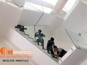 cửa nhôm kính quận 2